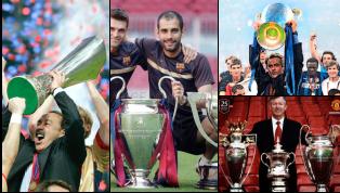 Giành được một cú ăn ba là kỳ tích mà bất kỳ huấn luyện viên nào cũng ao ước một lần trong đời thực hiện thành công. Trong hai thập kỷ qua, bóng đá thế giới...