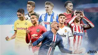 Estos son 100 de los jugadores de 21 años o menos que están llamados ser las estrellas en el mundo del fútbol en los próximos años. Como todos ellos prometen...