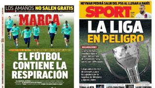 La decisión del Ministerio de Sanidad y del Consejo Superior de Deportes de no dar prioridad a los futbolistas en el envío de los test contra el Coronavirus...
