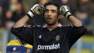 As Gianluigi Buffon fiddled with the velcro on his gloves, striding out into a barren Allianz Stadium, the 'Maradona of Goalkeepers' added another landmark...