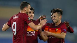 La Roma centra l'obiettivo ottavi di finale di Europa League e batte agevolmente 3-1 il Braga. La squadra giallorossa prima del fischio d'inizio A sorpresa...