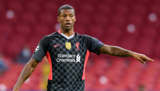 Liverpool midfielder Georginio Wijnaldum has told reporters quizzing him for an update on his contract situation to 'ask Liverpool' about it, with an...
