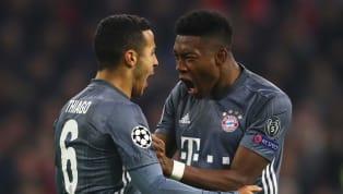 Das Ziel des FC Bayern ist klar: Sowohl Thiago als auch David Alaba sollen neue Verträge unterschreiben und dem Rekordmeister erhalten bleiben - derzeit...