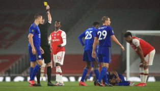 Thống kê từ BTC Premier League cho thấy, Arsenal đang là đội có lối chơi 'xấu xí' nhất Premier League nếu xét trên khía cạnh thẻ phạt. Ở trận đấu diễn ra vào...