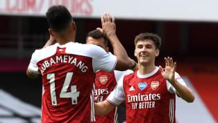 ข้อมูลการแข่งขัน การแข่งขัน : ฟุตบอลพรีเมียร์ลีกอังกฤษ 2019/20 วันแข่งขัน : วันอาทิตย์ที่ 26 กรกฎาคม 2020 ผลการแข่งขัน :อาร์เซนอล 3-2 วัตฟอร์ด สนาม :...