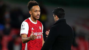 Arsenal manager Mikel Arteta said striker Pierre-Emerick Aubameyang was back to his normal self after he fired home a hat-trick in Sunday's 4-2 win over Leeds...