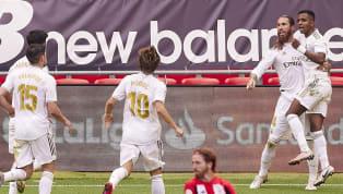 Sergio Ramos vừa lập công trên chấm phạt đền giúp Real Madrid hạ Bilbao ở vòng 34 La Liga tối 5/7. Trung vệ đội trưởng của Real tiếp tục chứng tỏ tại sao anh...