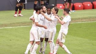 Real Madrid berhasil meraih kemenangan ketujuh secara beruntun saat menyambangi San Mames, markas Athletic Bilbao dalam lanjutan pertandingan pekan ke-34 La...
