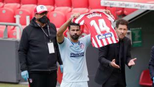 Diego Costa celebrated his equalising goal against Athletic Club on Sunday afternoon by holding aloft the number 14 shirt of Atletico Madrid Femenino star...