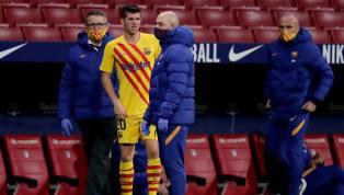 Die Verletzungssorgen beim FC Barcelona nehmen zu: Wie der Verein am Sonntag mitgeteilt hat, wird Sergi Roberto für zwei Monate ausfallen. Auch Gerard Pique...