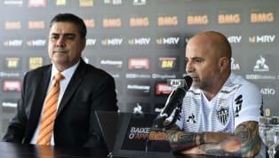 O técnico do Atlético-MG, Jorge Sampaoli, tem transmitido vídeos à distância o seu conceito de trabalho para os jogadores. O argentino encaminha os vídeos...