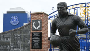 Everton have confirmed they are assisting Merseyside Police after a red flare was set alight and attached to the statue of Dixie Dean that is situated outside...