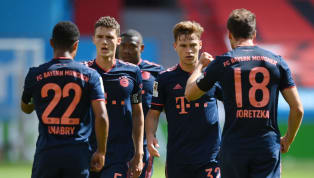 Away Bayern Munich moved within two wins of the Bundesliga title on Saturday afternoon as they came from behind to beat Bayer Leverkusen 4-2 at the BayArena....
