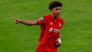 Als der FC Bayern am 33. Spieltag mit 3:1 gegen den SC Freiburg gewann, feierte Chris Richards seinen ersten Einsatz in der Bundesliga. Das Debüt unter Hansi...