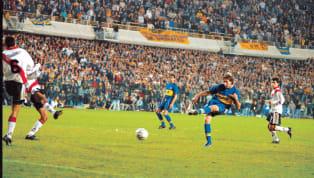 Boca necesitaba ganar en la Bombonera para darle vuelta la serie a River y Martín Palermo regresaba de una lesión que lo tuvo medio año afuera. 3-0 para los...