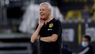 """Auf der Pressekonferenz vor dem letzten Bundesligaspieltag setzte Michael Zorc einen Schlusspunkt unter die Spekulationen um Trainer Lucien Favre. """"Wir gehen..."""