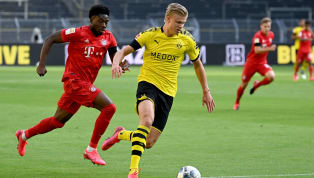 Alphonso Davies is definitely a force to reckon with! The Bayern Munich full-back showed off unbelievable pace to chase back Borussia Dortmund striker Erling...