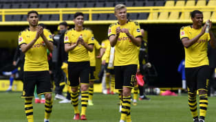 The Bundesliga returned with a bang as Erling Haaland became the first man to score as Borussia Dortmund thrashed Schalke in the Revierderby on Saturday...