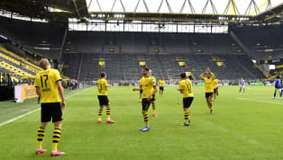 ight Borussia Dortmund continued their title chase in style on Saturday afternoon, beating Schalke 4-0 in the Revierderby at the Signal Iduna Park as football...