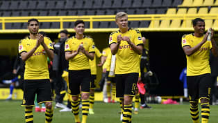 Wenn auch die Spieler von Borussia Dortmund den Revierderby-Sieg ohne Zuschauer feiern mussten, war die Freude nach dem Schlusspfiff durchaus sichtbar. Ein...