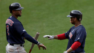 """Red Sox catcher Christian Vazquez entered the visiting clubhouse after Boston's sweep of the Orioles and proclaimed, """"Hey guys- we're back"""". Did the defending..."""
