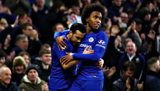 Ends Chelsea are in 'limbo' over season-ending contract extensions for Pedro and Willian - who are both out of contract on 30 June - as the pair harbour fears...