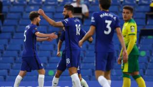 ข้อมูลการแข่งขัน การแข่งขัน : ฟุตบอลพรีเมียร์ลีกอังกฤษ 2019/20 วันแข่งขัน : คืนวันอังคารที่ 14 กรกฎาคม 2020 คู่แข่งขัน : เชลซี 1-0 นอริช ซิตี้ สนาม :...