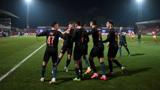 Manchester City avoided one of the great FA Cup upsets of all time as three late goals earned a 3-1 win over plucky Cheltenham Town at Whaddon Road, booking a...