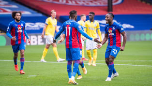 Wilfried Zaha's first half penalty was cancelled out by Alexis Mac Allister's late deflected strike to earn Brighton a deserved 1-1 draw on Sunday's Premier...