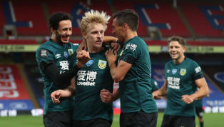 ence Burnley moved to within touching distance over the European places with a 1-0 win over Crystal Palace at Selhurst Park on Monday evening. In a game...