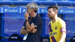 Former Barcelona manager Quique Setién has given an insight into managing Lionel Messi, labelling the forward the 'best of all time', even if his greatness...