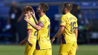 """Le Barça s'est offert un festival pour sa dernière rencontre de la saison 2019-2020 dans le championnat espagnol. Une """"manita"""" (0-5), dû en partie à la très..."""
