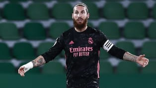 Real Madrid centre-back Sergio Ramos has entered the final six months of his contract at the Santiago Bernabeu and is now free to talk to other clubs over a...