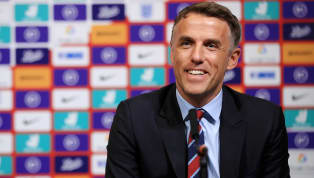 sses England international Jill Scott has defended Phil Neville's achievements as manager, saying he can leave the Lionesses job 'with his head held high'....