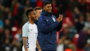 Manchester United forward Marcus Rashford has named Raheem Sterling as an inspiration for his campaign work that resulted in the government reversing their...