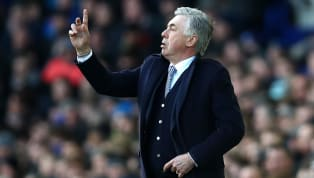 Carlo Ancelotti has claimed that he is hopeful that Everton can start challenging for the Premier League title 'soon'. When he's not forgetting long-serving...