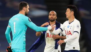 En marge de la victoire étriquée de Tottenham face à Everton (1-0), lundi, la soirée a été marquée par cette vive altercation entre Hugo Lloris et Son...