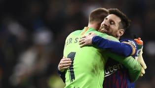 """Am Tag nach dem Sieg des FC Barcelona gegen die Real Sociedad im Halbfinale des spanischen Supercups schrieb die in Barcelona ansässige Sport: """"Ter Stegen war..."""