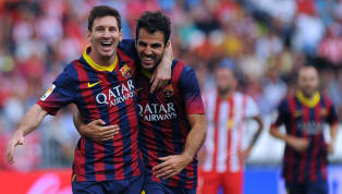 Former Barcelona star Cesc Fabregas spent his career playing alongside some of the greatest players in football for his clubs and country. He has now tried to...