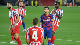 Barcelona đã bị Atletico Madrid cầm hòa 2-2 trong trận cầu rạng sáng 1/7, qua đó cửa vô địch lại rộng mở với Real Madrid. Trận cầu vòng 33 La Liga giữa...