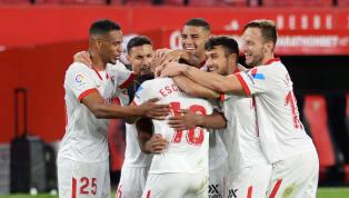 El conjunto hispalense certificó, con su victoria sobre la bocina en Krasnodar, su pase a los octavos de final de la Champions League, lo que les descarta...