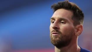 """Akhirnya selesai sudah saga transfer Lionel Messi di musim panas 2020 ini setelah sang pemain mengonfirmasi akan bertahan di Barcelona. """"Saya tidak bahagia..."""