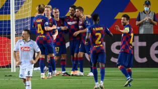 Der FC Barcelona hatte sich im Hinspiel des Achtelfinales der Champions League mit einem 1:1 in Neapel begnügen müssen. Nach einer ereignisreichen ersten...