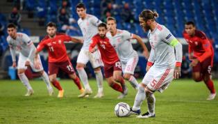 Devenu officiellement le joueur européen le plus capé de l'histoire, Sergio Ramos n'a pas brillé face à la Suisse (1-1), en Ligue des Nations. Après 25...