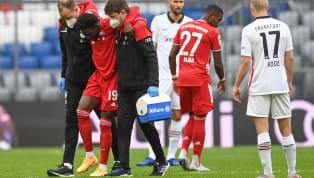 Nach nur drei Minuten in der Partie gegen Eintracht Frankfurt mussten die Bayern ihren Linksverteidiger Alphonso Davies ersetzen, der Kanadier knickte mit dem...