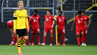 When Joshua Kimmich's hopeful chip nestled in the corner of Roman Bürki's net, there was a sense of inevitability which rained down at Borussia Dortmund's...