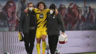 Worst Case für Axel Witsel: Der BVB-Profi fällt mit einem Achillessehnenriss mehrere Monate aus, kann seine Stiefel für diese Spielzeit an den Nagel hängen...