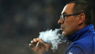 Juventus defender Giorgio Chiellini has revealed that manager Maurizio Sarri's obsession with cigarettes is so bad that players need to shower after speaking...