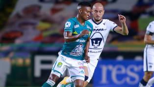 El equipo de los Pumas UNAM se metieron a la cancha del Nou Camp para verse las caras ante los Panzas Verdes del León en duelo de fieras. En un juego pelead,...