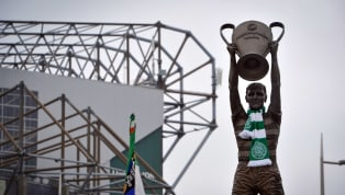 Outside Celtic Park, one of the most impressive, cutting edge stadia in modern Britain, there are three statues which offer a glimpse into the window of...